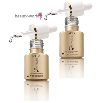 Gold Gel Duo Set Straffendes Pflegeserum mit Goldpartikeln